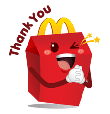 McDonald's Sticker 6
