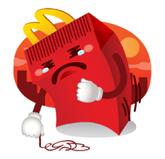 McDonald's Sticker 9