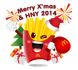 McDonald's Sticker 16