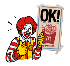 McDonald's Sticker 18