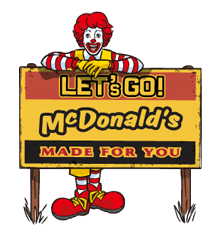 McDonald's Sticker 19