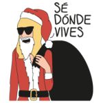 Moderna De Poble Christmas Edition Sticker 1