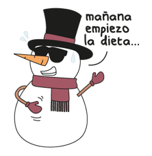 Moderne Pueblo Christmas Edition Sticker 3