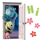Monsters Inc autocolant 13