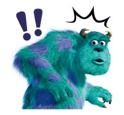 Monsters Inc Sticker 18