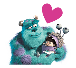 Monsters Inc Sticker 24