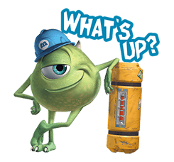 Monsters Inc Sticker 26