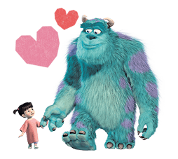 Monsters Inc Sticker 30