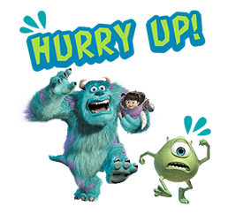 Monsters Inc Sticker 2