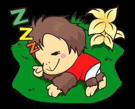 orangutan Sticker 1