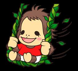 OrangUtan Sticker 9