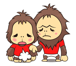 orangutan Sticker 17