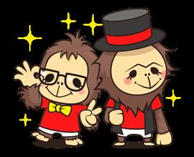 orangutan Sticker 19