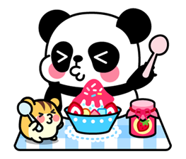 Pan & Ham Sticker 16