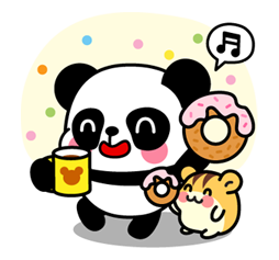 Pan & Ham Sticker 17