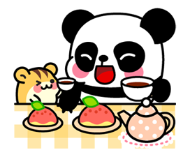 Pan & Ham Sticker 19