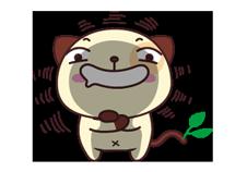 पांडा कुत्ता स्टीकर 20