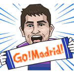 Real Madrid Champions League Sticker 4