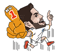 Real Madrid Champions League Sticker 22