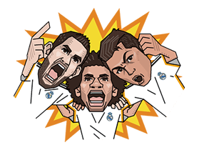 Real Madrid Champions League Sticker 36