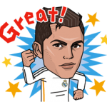 Real Madrid FC Sticker 2