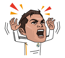 Real Madrid FC Sticker 4