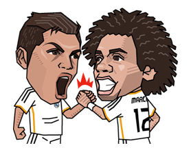 Real Madrid FC Sticker 8