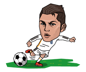 Real Madrid officiële Sticker 7