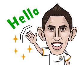 Real Madrid Official Sticker 9