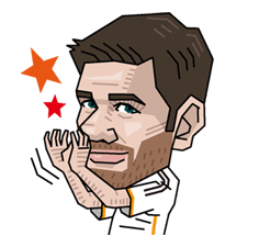 Real Madrid officiële Sticker 10