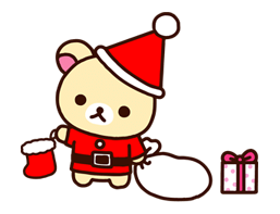 Rilakkuma Xmas New Year Sticker 51