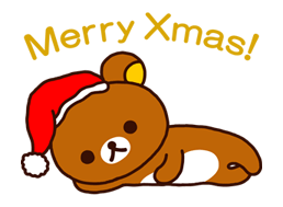 Rilakkuma Xmas New Year Sticker 52