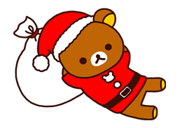 Rilakkuma Xmas New Year Sticker 57