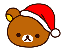 Rilakkuma Xmas New Year Sticker 59