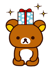 Rilakkuma Xmas New Year Sticker 67