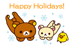 Rilakkuma Xmas New Year Sticker 69