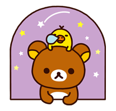 Rilakkuma Xmas New Year Sticker 70