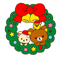 Rilakkuma Xmas New Year Sticker 11