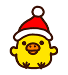 Rilakkuma Xmas New Year Sticker 14