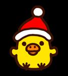 Rilakkuma di Natale Capodanno Sticker 14