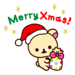 Rilakkuma Xmas New Year Sticker 15