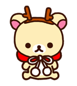 Rilakkuma Xmas New Year Sticker 17