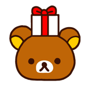 Rilakkuma Xmas New Year Sticker 24