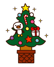 Rilakkuma Xmas New Year Sticker 27