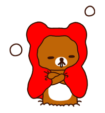 Rilakkuma Xmas New Year Sticker 31