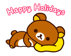 Rilakkuma Xmas New Year Sticker 34