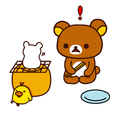 Rilakkuma Xmas New Year Sticker 43