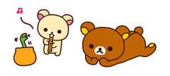 Rilakkuma Xmas New Year Sticker 44