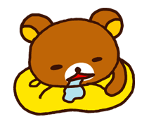 Rilakkuma Xmas New Year Sticker 46
