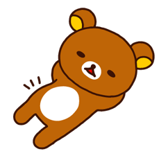 Rilakkuma Xmas New Year Sticker 48